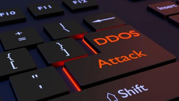 keyboard with ddos and attack on enter key