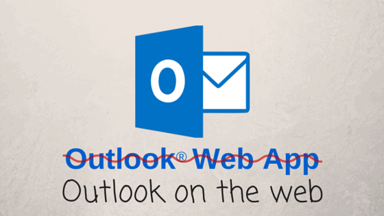 outlook icon on wall