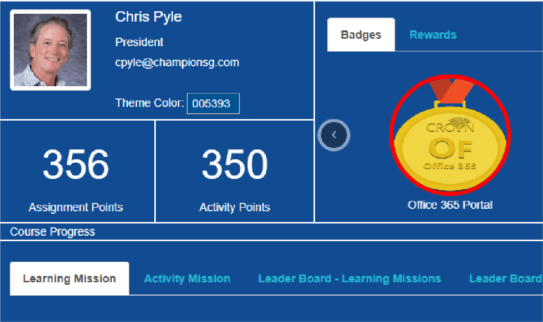 SharePoint LMS with gamification