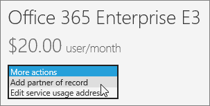office 365 enterprise e3 cost