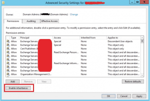 azure adconnect, Azure ADConnect Export Failed with Permission-issue Error (Insufficient access rights to perform this operation)