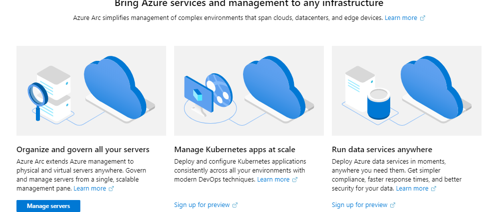 Bring Azure services and management to any infrastructure