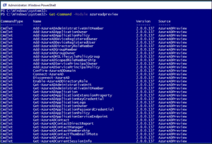 connect to azure ad powershell - step 4