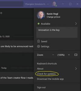 New Features in Microsoft Teams